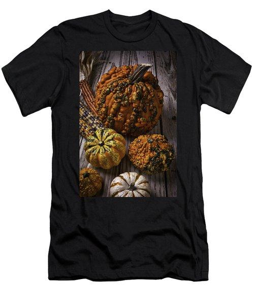 Graphic Knuklehead Pumpkin Men's T-Shirt (Athletic Fit)