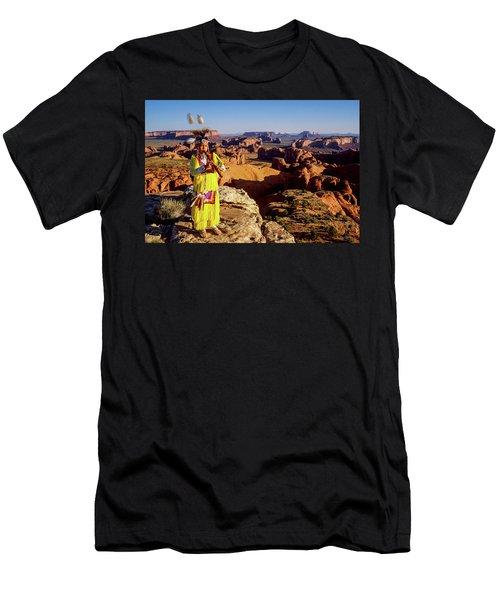 Grass Dancer Men's T-Shirt (Athletic Fit)