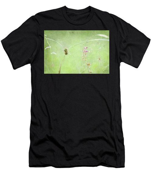 Grasses And Blooms Men's T-Shirt (Athletic Fit)