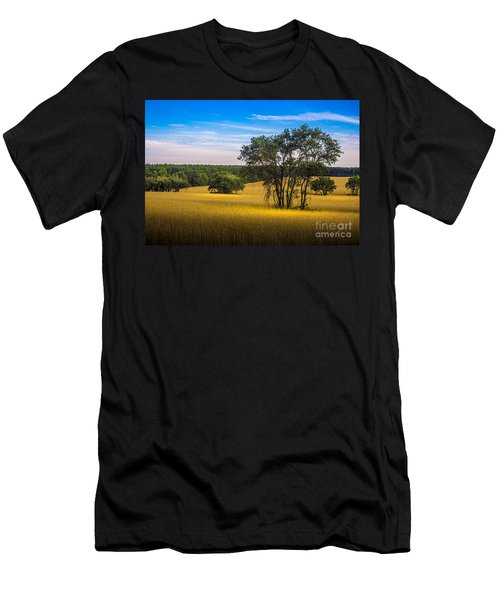 Grassland Safari Men's T-Shirt (Athletic Fit)