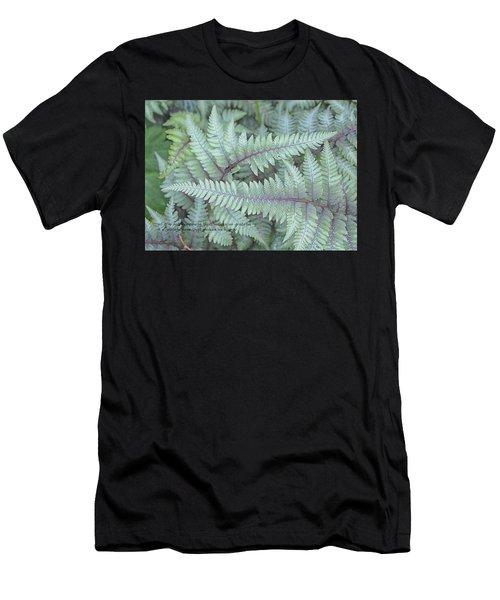 Grateful Men's T-Shirt (Slim Fit) by Catherine Alfidi