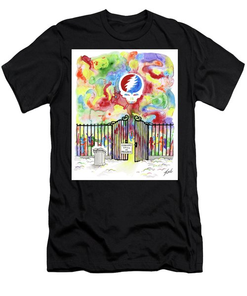 Grateful Dead Concert In Heaven Men's T-Shirt (Athletic Fit)