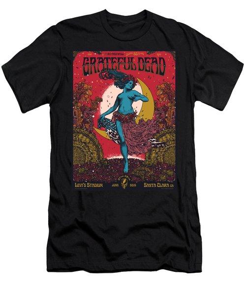 Grateful Dead Levi's Stadium Santa Clara Ca Men's T-Shirt (Athletic Fit)