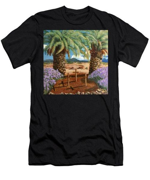 Gratitude Reminder  Men's T-Shirt (Athletic Fit)