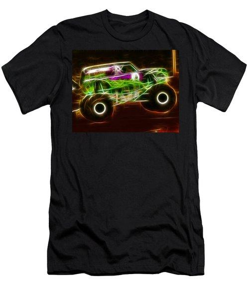 Grave Digger Monster Truck Men's T-Shirt (Athletic Fit)