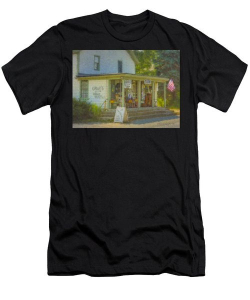 Gray's Store In Little Compton Rhode Island Men's T-Shirt (Athletic Fit)