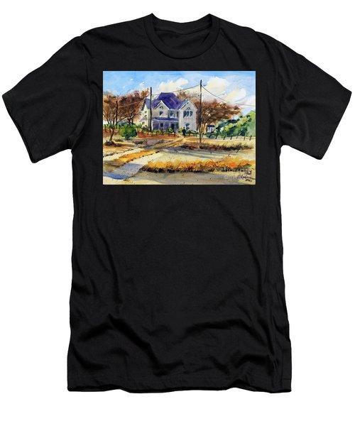 Grayson County Farmhouse Men's T-Shirt (Athletic Fit)