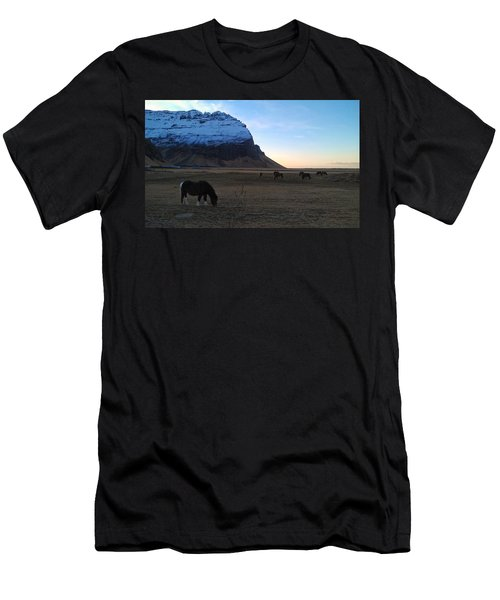 Grazing At Dawn Men's T-Shirt (Athletic Fit)