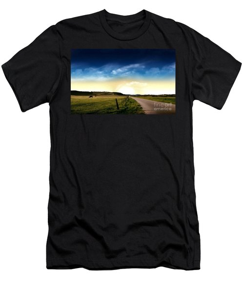 Grazing Time Men's T-Shirt (Athletic Fit)