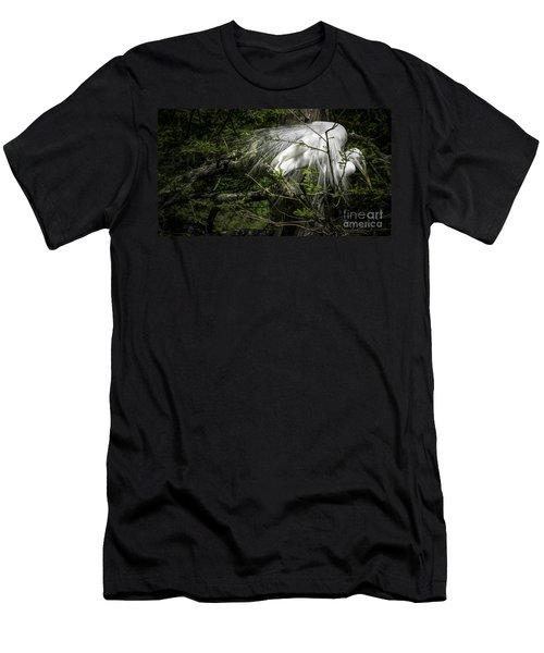 Great Egret #2 Men's T-Shirt (Athletic Fit)