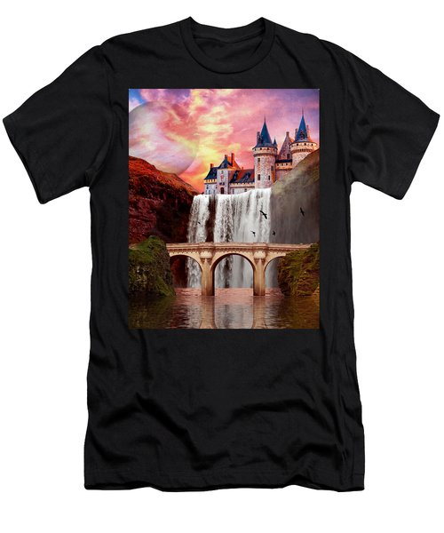 Great Falls Castle Men's T-Shirt (Athletic Fit)