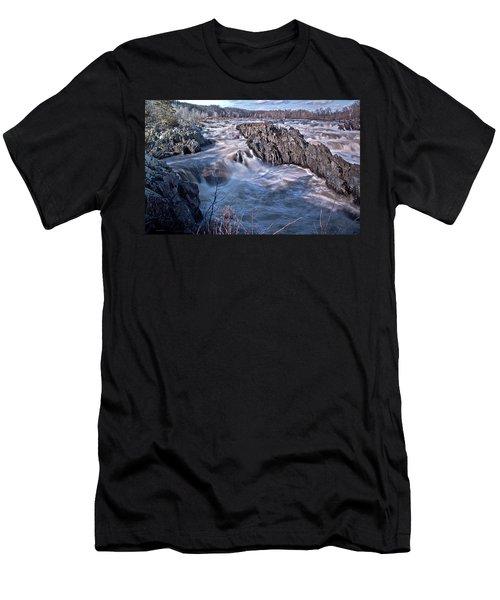 Great Falls Virginia Men's T-Shirt (Athletic Fit)