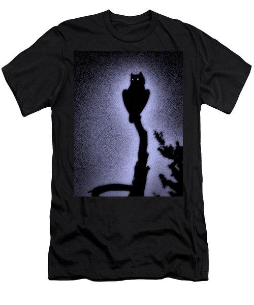 Great Horned Owl In The Desert 4 Men's T-Shirt (Athletic Fit)