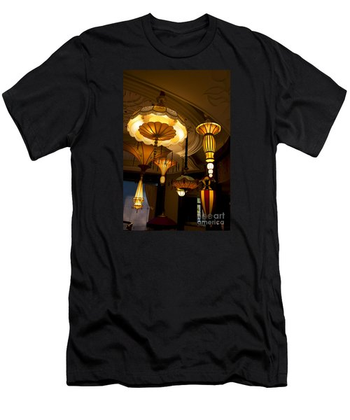 Great Lamps Men's T-Shirt (Slim Fit) by Ivete Basso Photography