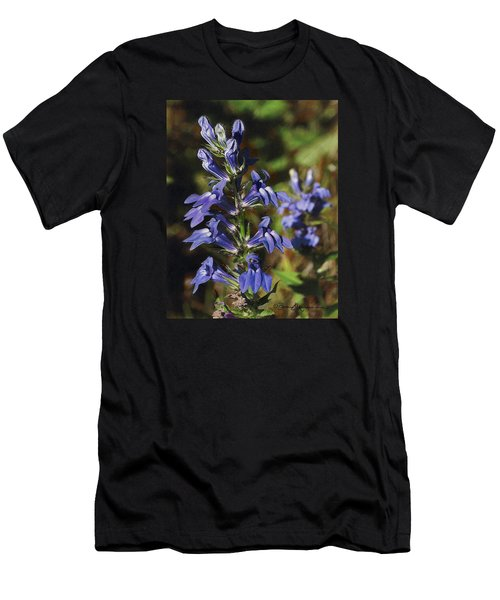 Great Lobelia Blues Men's T-Shirt (Athletic Fit)