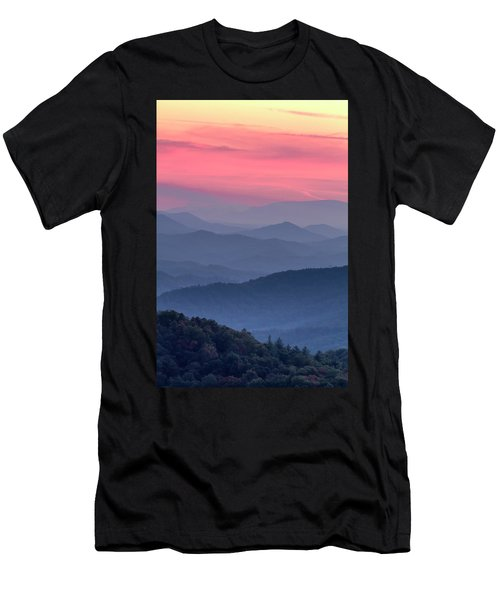 Great Smoky Mountain Sunset Men's T-Shirt (Athletic Fit)