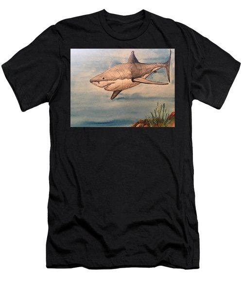Great White Shark Men's T-Shirt (Athletic Fit)