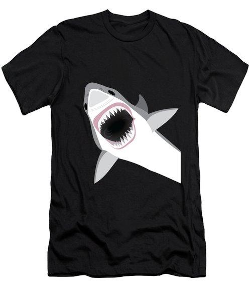 Great White Shark Men's T-Shirt (Slim Fit)