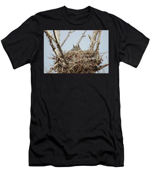 Greathornedowl3 Men's T-Shirt (Athletic Fit)