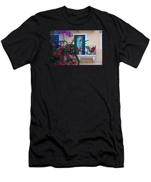 Men's T-Shirt (Slim Fit) featuring the photograph Greek Beauty by Rob Hemphill