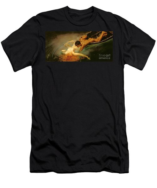 Green Abyss Men's T-Shirt (Athletic Fit)