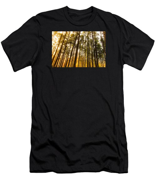 Green Among The Gold Men's T-Shirt (Athletic Fit)