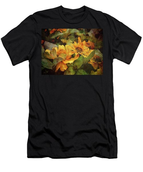 Green And Gold 1068 Idp_2 Men's T-Shirt (Athletic Fit)