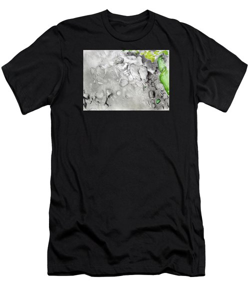 Green And Gray Stones Men's T-Shirt (Athletic Fit)