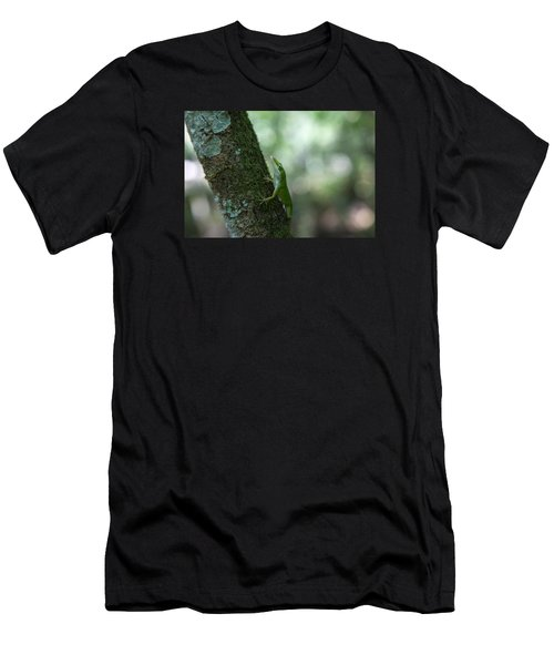 Green Anole Men's T-Shirt (Athletic Fit)