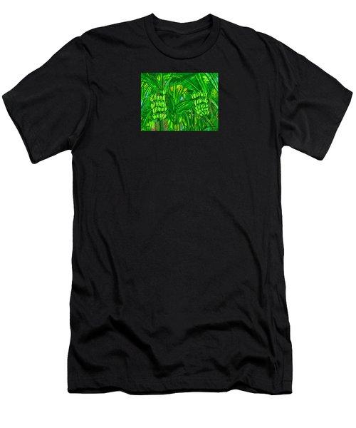 Green Bananas Men's T-Shirt (Athletic Fit)