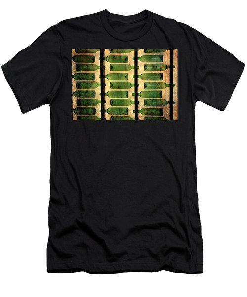 Green Bottles Men's T-Shirt (Athletic Fit)