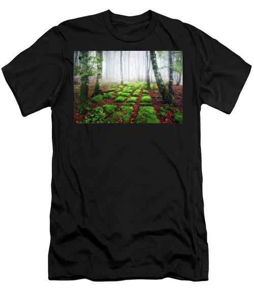 Green Brick Road Men's T-Shirt (Athletic Fit)