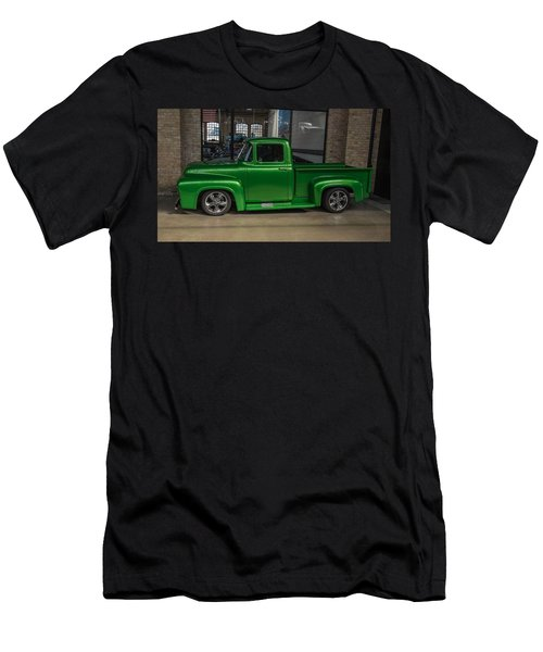 Green Car Men's T-Shirt (Athletic Fit)
