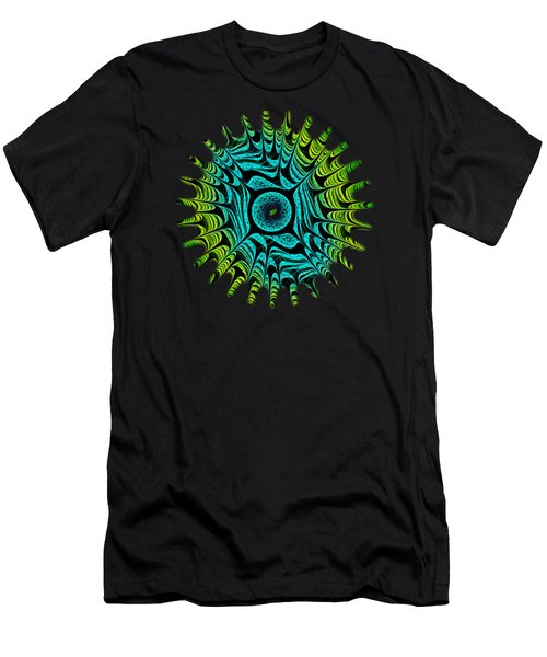 Green Dragon Eye Men's T-Shirt (Athletic Fit)