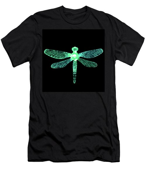 Green Dragonfly Men's T-Shirt (Athletic Fit)