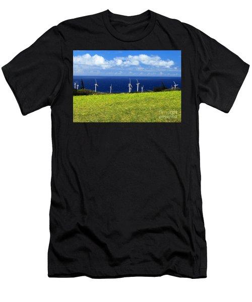 Green Energy Men's T-Shirt (Athletic Fit)