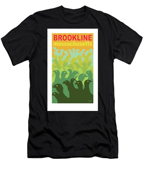 Green Fields Of Brookline Men's T-Shirt (Athletic Fit)