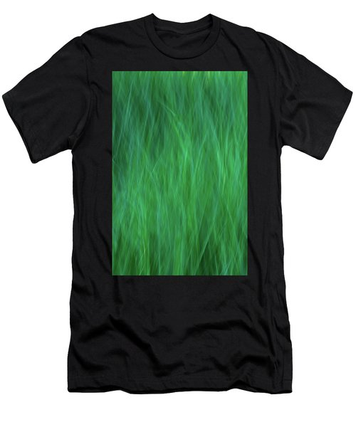 Green Fire 2 Men's T-Shirt (Athletic Fit)