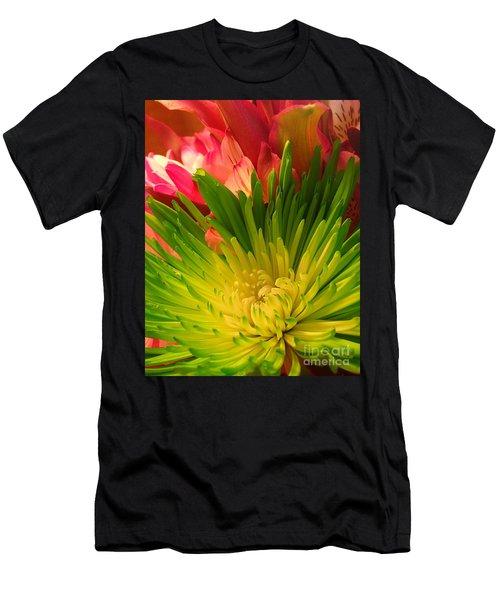 Green Focus Men's T-Shirt (Athletic Fit)