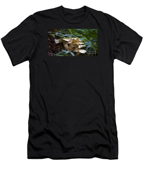Green Forest Floor Men's T-Shirt (Athletic Fit)