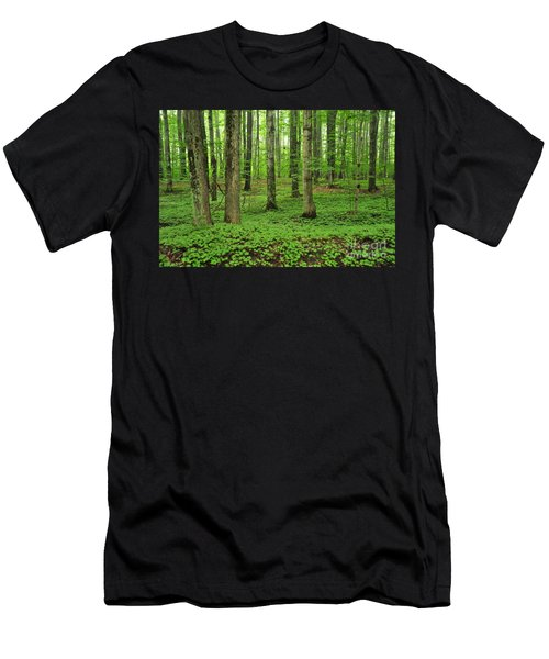 Green Forest Men's T-Shirt (Athletic Fit)
