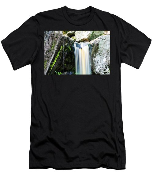 Green Glows On The Falls Men's T-Shirt (Athletic Fit)