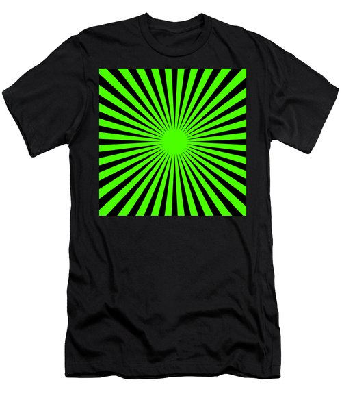 Green Harmony Men's T-Shirt (Athletic Fit)
