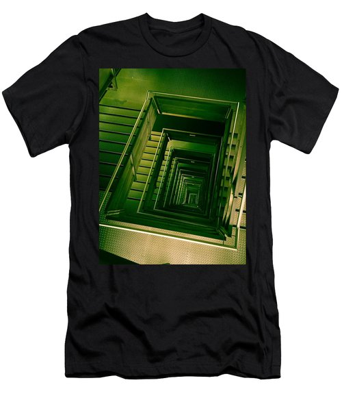 Green Infinity Men's T-Shirt (Athletic Fit)