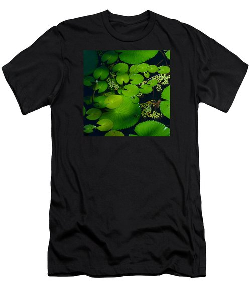 Green Islands Men's T-Shirt (Slim Fit) by Evelyn Tambour