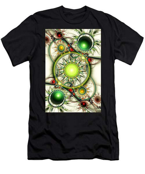 Green Jewelry Men's T-Shirt (Athletic Fit)