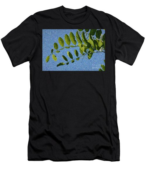 Green Leaves 2 Men's T-Shirt (Athletic Fit)