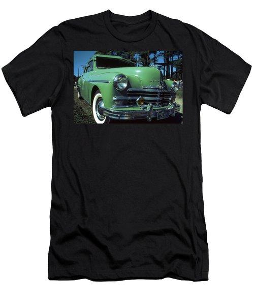 American Limousine 1957 - Historic Car Photo Men's T-Shirt (Athletic Fit)