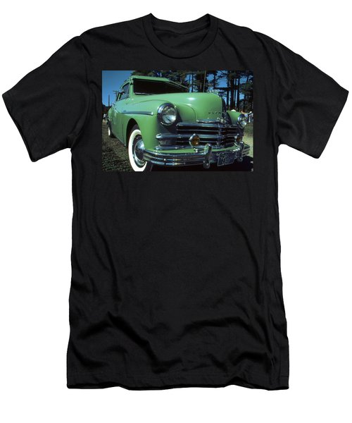 American Limousine 1957 - Historic Car Photo Men's T-Shirt (Athletic Fit)
