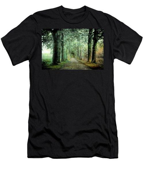 Green Magic Men's T-Shirt (Athletic Fit)